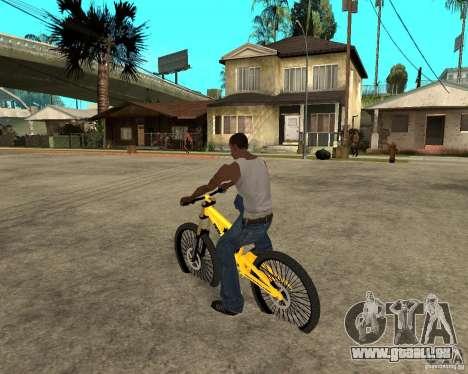 Nox Startrack DH 9.5 pour GTA San Andreas laissé vue