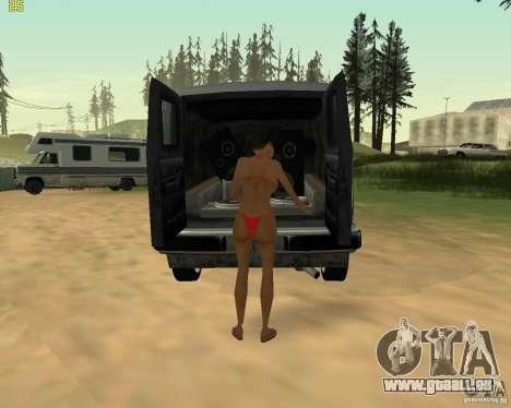 Partei auf die Natur für GTA San Andreas fünften Screenshot