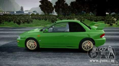 Subaru Impreza 22b 1998 (final) pour GTA 4 est une gauche