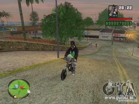 NEW Ryder pour GTA San Andreas quatrième écran