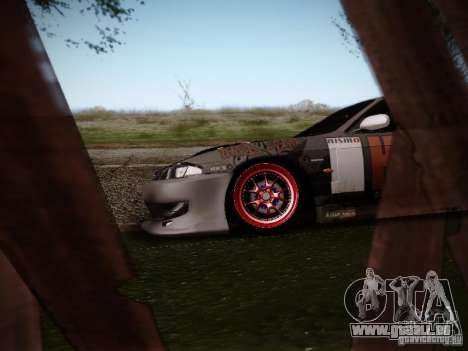 Nissan Silvia S14 Hell pour GTA San Andreas vue arrière