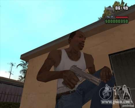 New Pistel TT30 für GTA San Andreas dritten Screenshot