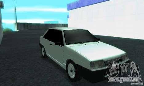 VAZ 21099 Coupe für GTA San Andreas Innenansicht