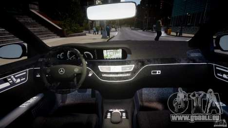 Mercedes-Benz S-Class W221 BRABUS SV12 für GTA 4 rechte Ansicht