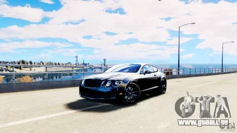 Bentley Continental SuperSports v2.5 pour GTA 4