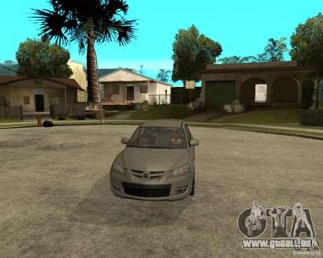 Mazda 3 Sport 2003 pour GTA San Andreas vue arrière