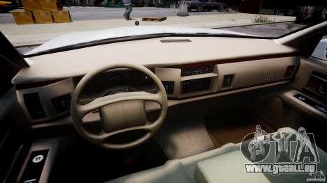 Buick Roadmaster Sedan 1996 v1.0 pour GTA 4 Vue arrière