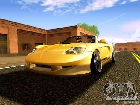 Toyota MR-S für GTA San Andreas Rückansicht