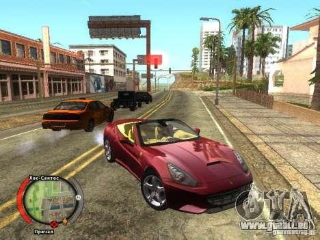 New HUD by shama123 für GTA San Andreas zweiten Screenshot