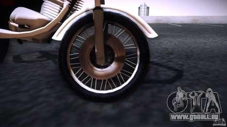 Honda CG 125 für GTA San Andreas rechten Ansicht