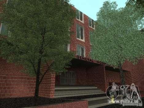 Neue Texturen-Krankenhaus für GTA San Andreas