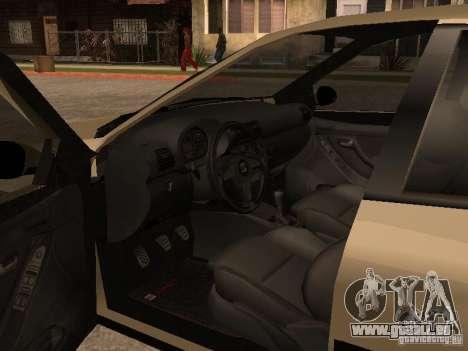Seat Toledo 1.9 1999 für GTA San Andreas Innenansicht