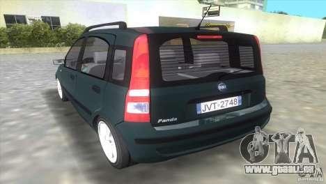 Fiat Panda 2004 pour une vue GTA Vice City de la gauche