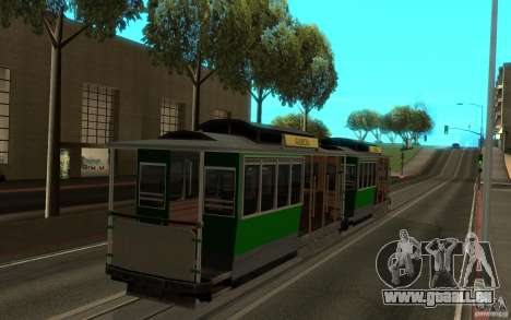 New tram mod pour GTA San Andreas laissé vue