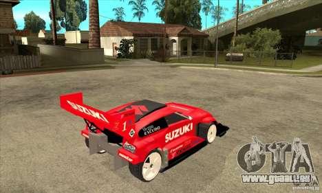 Suzuki Escudo Pikes Peak V2.0 pour GTA San Andreas vue de droite