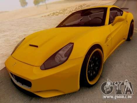 Ferrari California Hamann 2011 für GTA San Andreas