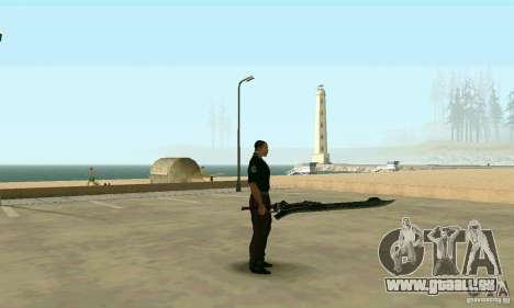 Schwert des Nero in Devil May Cry 4 für GTA San Andreas zweiten Screenshot