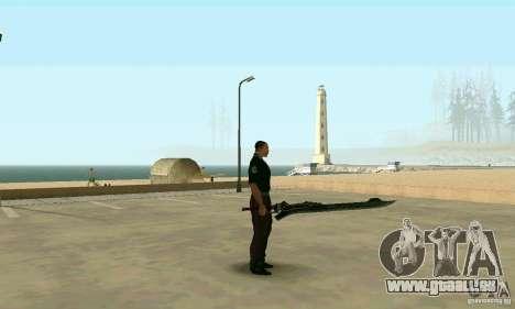 Schwert des Nero in Devil May Cry 4 für GTA San Andreas zweiten Screenshot