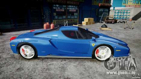 Ferrari Enzo pour GTA 4 est une vue de l'intérieur