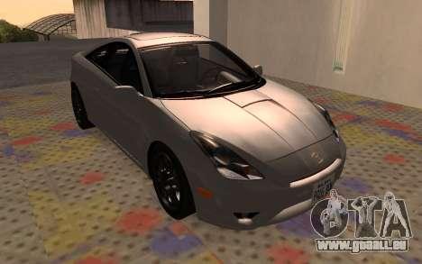 Toyota Celica 2JZ-GTE für GTA San Andreas zurück linke Ansicht