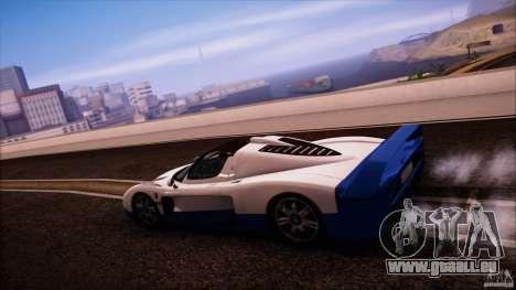 Maserati MC12 V1.0 pour GTA San Andreas vue de droite