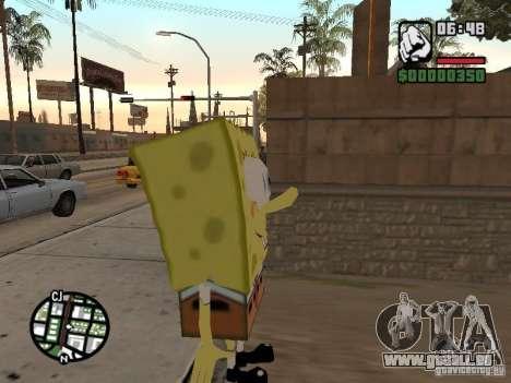 Sponge Bob pour GTA San Andreas deuxième écran