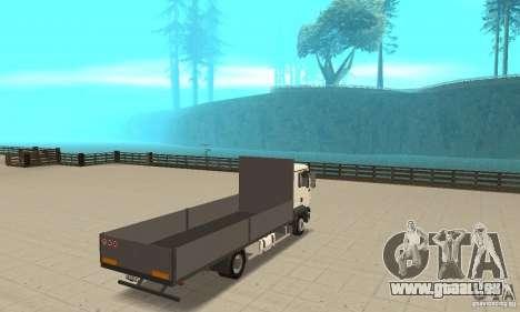 MAN TGL pour GTA San Andreas laissé vue
