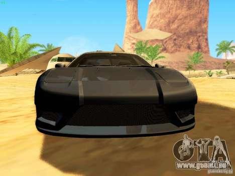 Honda NSX Custom pour GTA San Andreas roue