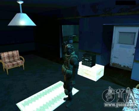 Soldats de la CoD MW 2 pour GTA San Andreas deuxième écran