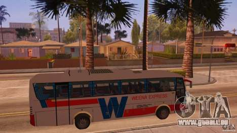 Weena Express pour GTA San Andreas vue de droite