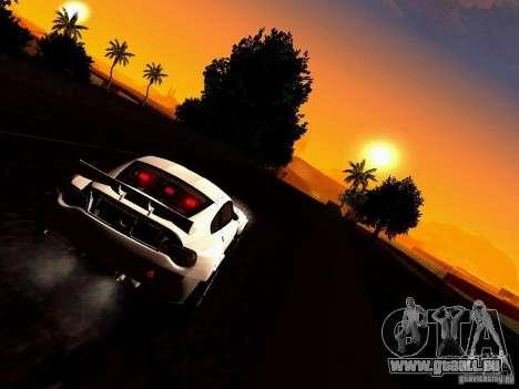 BMW Z4 Rally Cross für GTA San Andreas Innenansicht