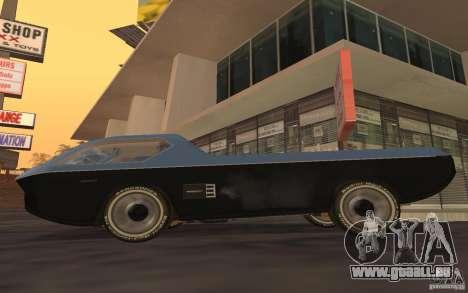 Dodge Deora Concept 1965-1967 pour GTA San Andreas laissé vue