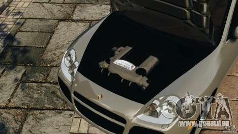 Porsche Cayenne Turbo 2003 für GTA 4 Seitenansicht