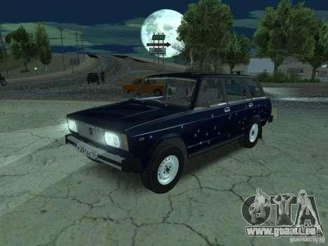 VAZ 2104 pour GTA San Andreas vue de dessus