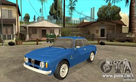 Alfa Romeo Giulia GTA pour GTA San Andreas