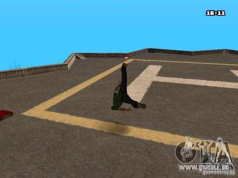 Parkour Mod für GTA San Andreas