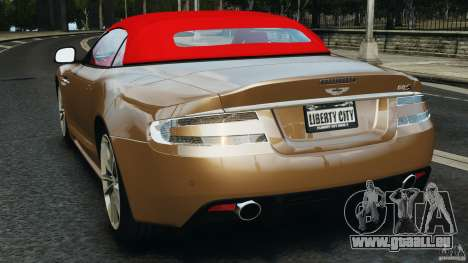 Aston Martin DBS Volante [Final] pour GTA 4 Vue arrière de la gauche