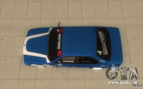 BMW E34 V8 pour GTA San Andreas vue de droite