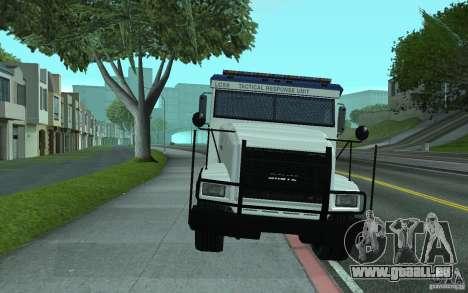 Securicar de GTA IV pour GTA San Andreas vue de dessus
