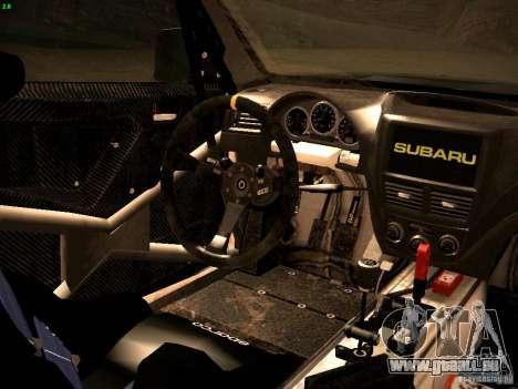 Subaru Impreza Gravel Rally pour GTA San Andreas vue de côté