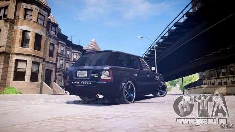 Range Rover Sport pour GTA 4 est une gauche
