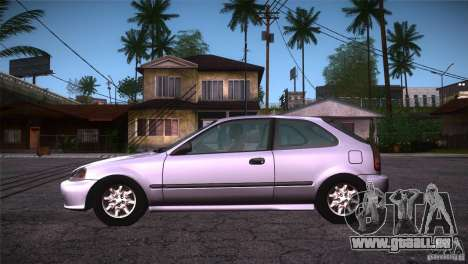 Honda Civic Tuneable für GTA San Andreas linke Ansicht