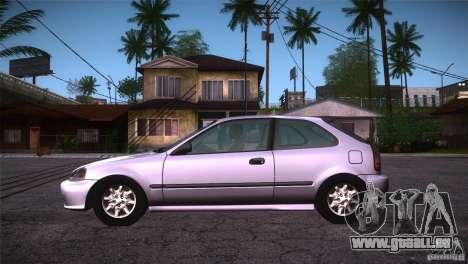 Honda Civic Tuneable für GTA San Andreas linke Ansicht