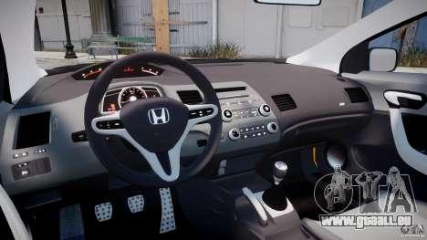 Honda Civic Si Coupe 2006 v1.0 pour GTA 4 est un droit