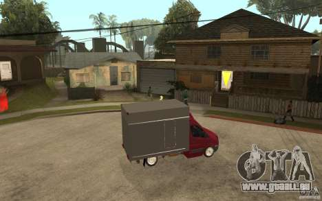 Volkswagen Crafter Case Closed für GTA San Andreas rechten Ansicht