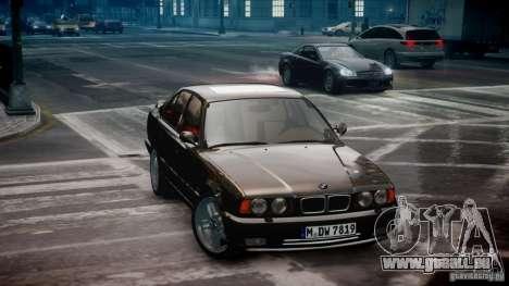 BMW M5 (E34) 1995 v1.0 für GTA 4 linke Ansicht