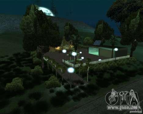 Villa neuve pour CJ pour GTA San Andreas deuxième écran
