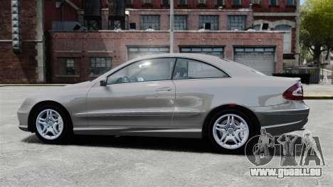 Mercedes-Benz CLK 55 AMG Stock pour GTA 4 est une gauche