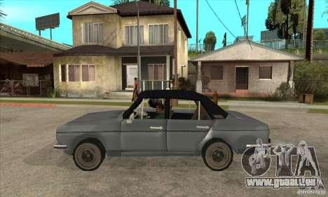 Anadol A1 SL 1975 pour GTA San Andreas laissé vue