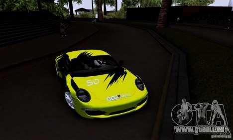 Porsche 911 Carrera S für GTA San Andreas Innenansicht